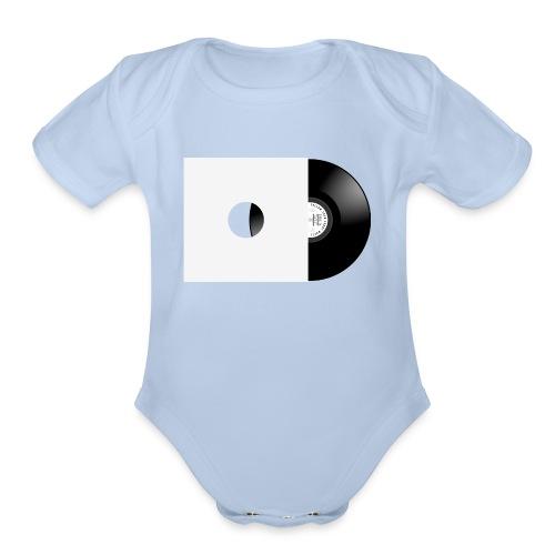 Vinyl Record - Organic Short Sleeve Baby Bodysuit