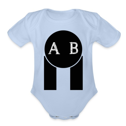 AB the best - Organic Short Sleeve Baby Bodysuit