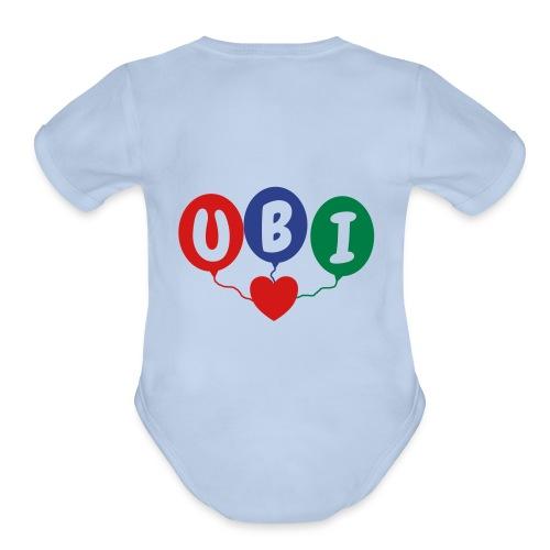 Balloons - Organic Short Sleeve Baby Bodysuit