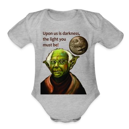 Yoda Bernie - Organic Short Sleeve Baby Bodysuit