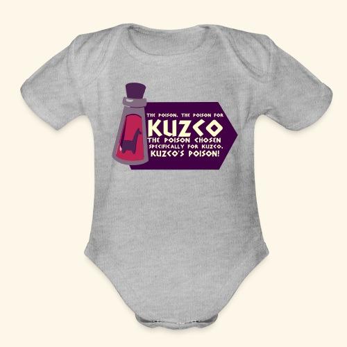 kuzco - Organic Short Sleeve Baby Bodysuit
