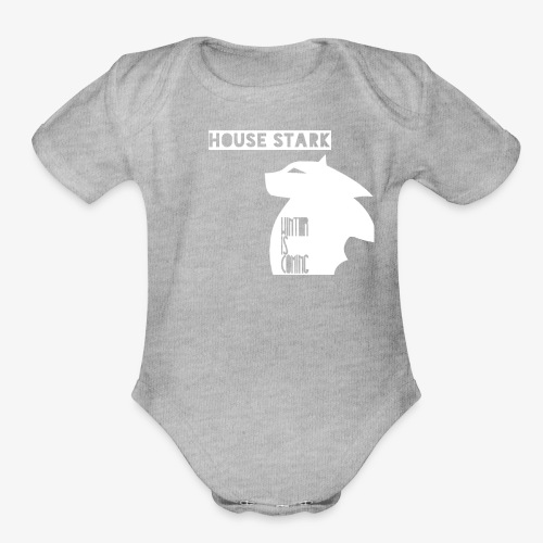 The House of the Winter - Organic Short Sleeve Baby Bodysuit