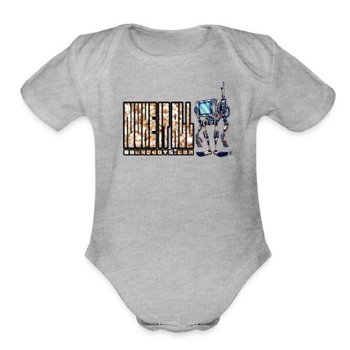 Nuke It All! 💥🍿 - Organic Short Sleeve Baby Bodysuit