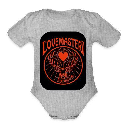 Lovemaster (2017) - Organic Short Sleeve Baby Bodysuit