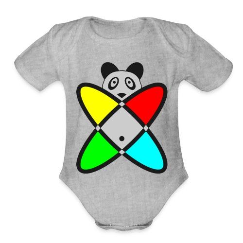 SCIENCE PANDA - Organic Short Sleeve Baby Bodysuit