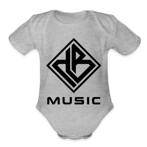 db Black Label - Organic Short Sleeve Baby Bodysuit