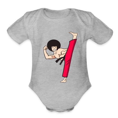 FUNKYkick - Organic Short Sleeve Baby Bodysuit