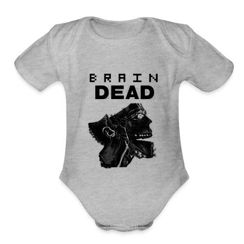 braindead - Organic Short Sleeve Baby Bodysuit
