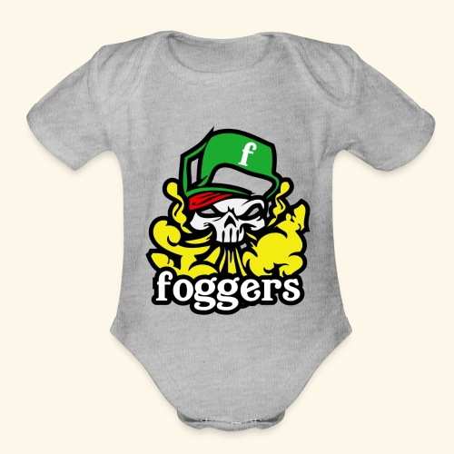 fogger 2 - Organic Short Sleeve Baby Bodysuit