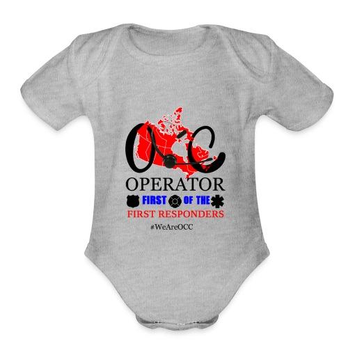 We Are OCC english - Organic Short Sleeve Baby Bodysuit