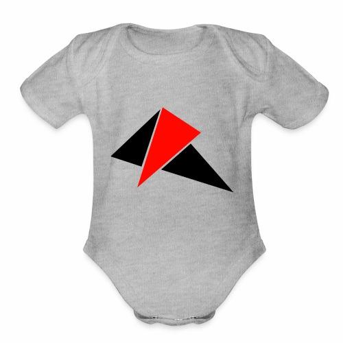 3 Tri - Organic Short Sleeve Baby Bodysuit