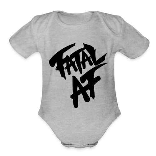 fatalaf - Organic Short Sleeve Baby Bodysuit