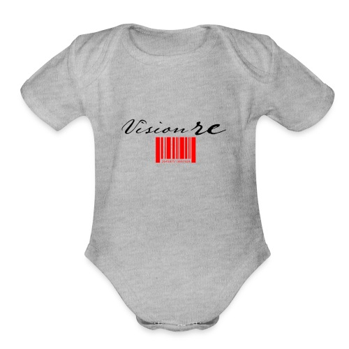 Visionre - Organic Short Sleeve Baby Bodysuit