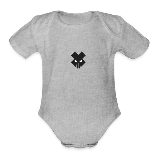 T.V.T.LIFE LOGO - Organic Short Sleeve Baby Bodysuit