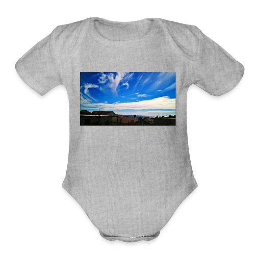 Autumn can be beautiful - Organic Short Sleeve Baby Bodysuit