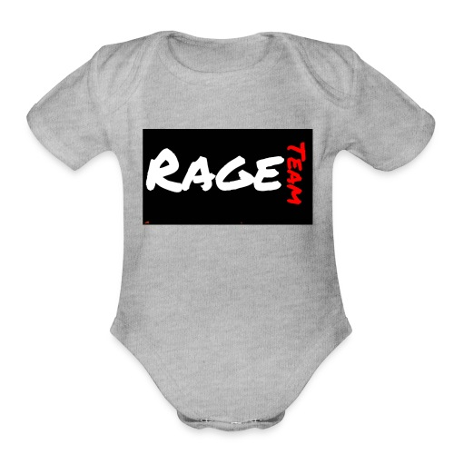 TheRageTeam T-Shirt - Organic Short Sleeve Baby Bodysuit