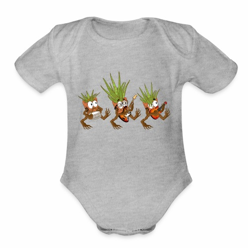 The Aloe Parade 2 - Organic Short Sleeve Baby Bodysuit