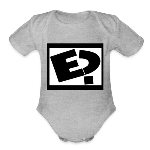 Rated E - Organic Short Sleeve Baby Bodysuit