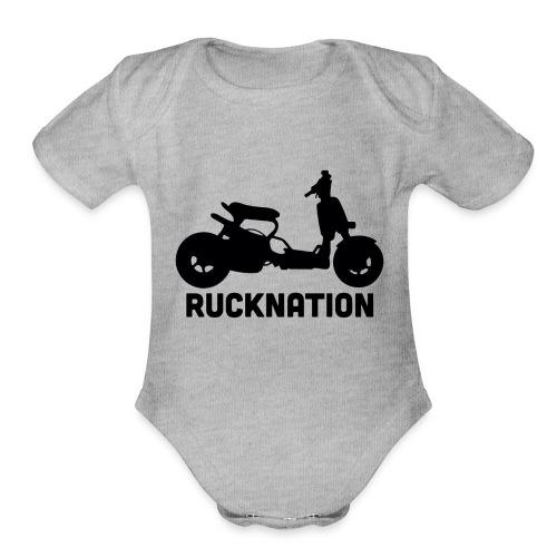 Ruckus rucknation - Organic Short Sleeve Baby Bodysuit