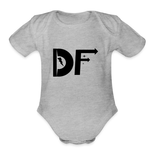 DaFroot Logo 2016 - Organic Short Sleeve Baby Bodysuit