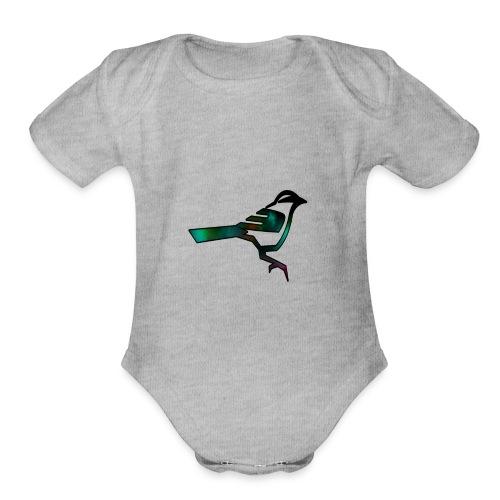 RiPNinjaGaming Logo - Organic Short Sleeve Baby Bodysuit