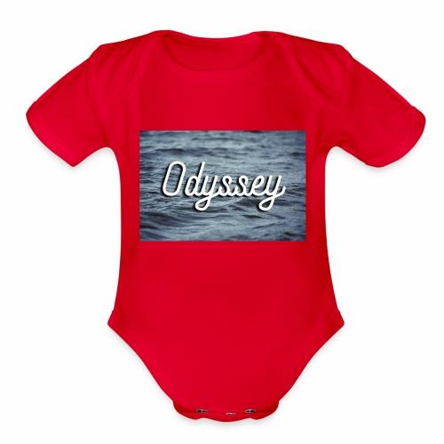 WaterOdyssey - Organic Short Sleeve Baby Bodysuit