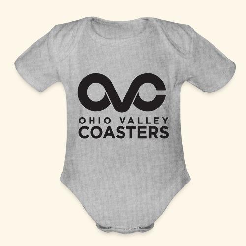 OVC Basic Logo - Organic Short Sleeve Baby Bodysuit