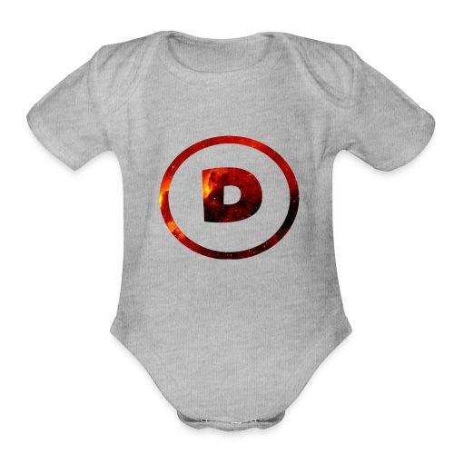 Dra9on Stuff #1 - Organic Short Sleeve Baby Bodysuit