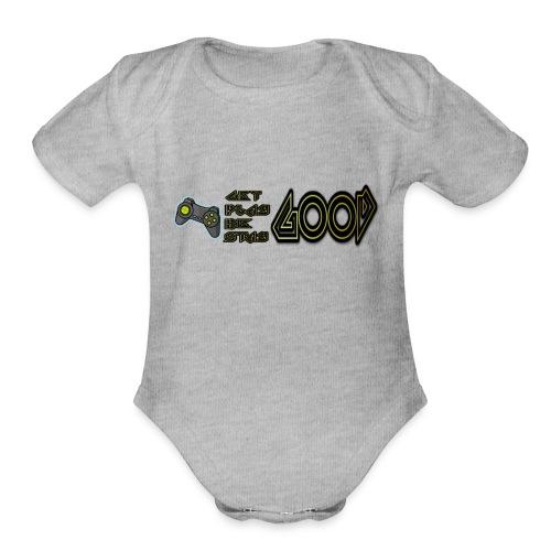Cosmic Sol Get Good - Organic Short Sleeve Baby Bodysuit