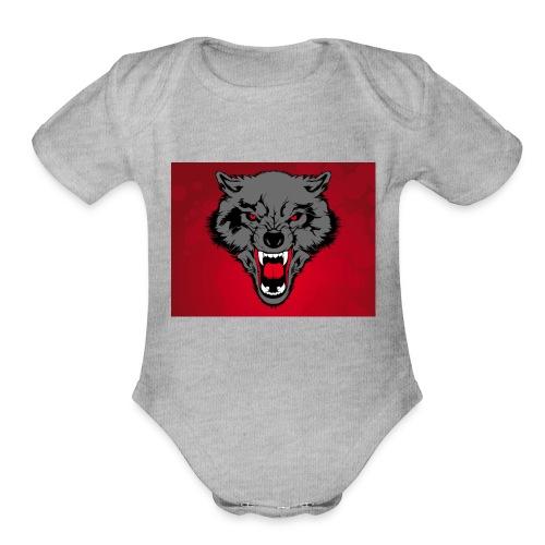 Wolf Pack - Organic Short Sleeve Baby Bodysuit