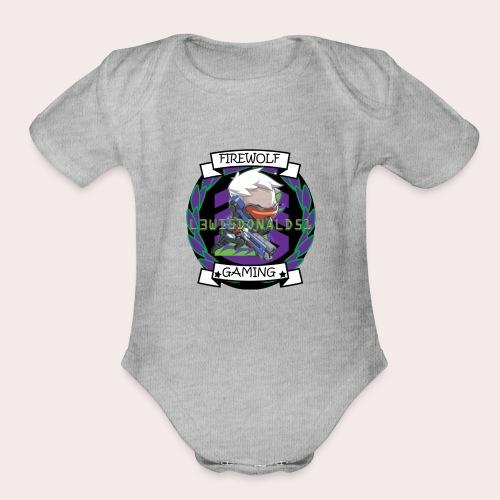 76 - Organic Short Sleeve Baby Bodysuit