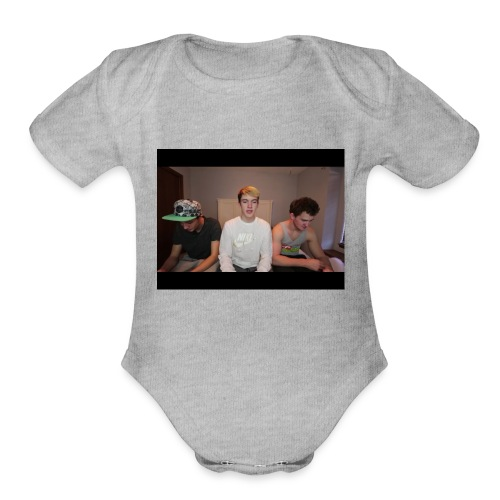 Blake - Organic Short Sleeve Baby Bodysuit