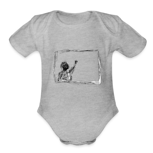 3 AM - Organic Short Sleeve Baby Bodysuit