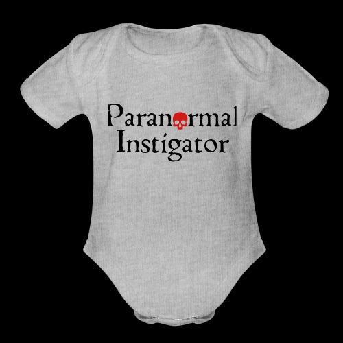 Paranormal Instigator - Organic Short Sleeve Baby Bodysuit