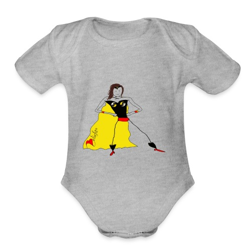 Super Me - Organic Short Sleeve Baby Bodysuit