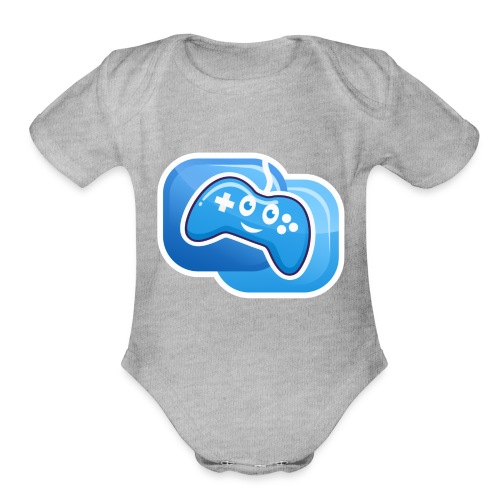 JP the Controller - Organic Short Sleeve Baby Bodysuit