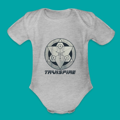 Sacred Geometry - Organic Short Sleeve Baby Bodysuit