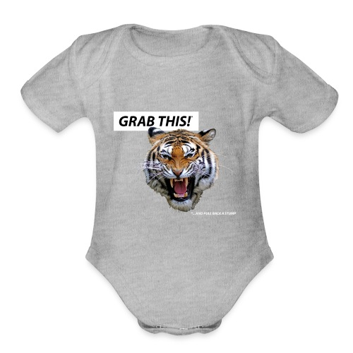 grab_this - Organic Short Sleeve Baby Bodysuit