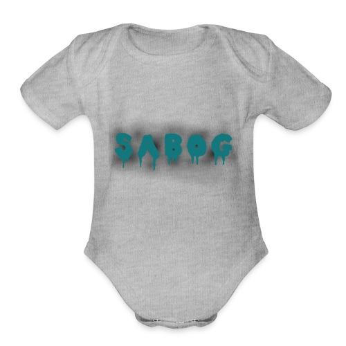 Sabog - Organic Short Sleeve Baby Bodysuit