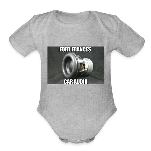 Fort Frances Car Audio - Organic Short Sleeve Baby Bodysuit