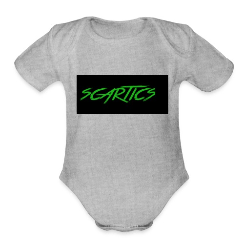 scartics - Organic Short Sleeve Baby Bodysuit