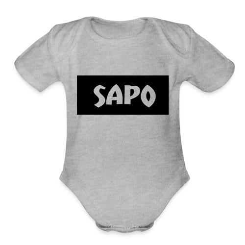 SAPOSHIRT - Organic Short Sleeve Baby Bodysuit