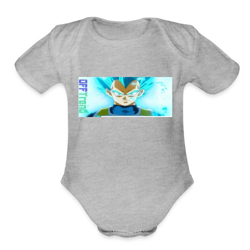 DetermineYourTrend - Organic Short Sleeve Baby Bodysuit
