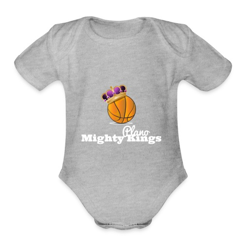 Mighty Kings 2 - Organic Short Sleeve Baby Bodysuit