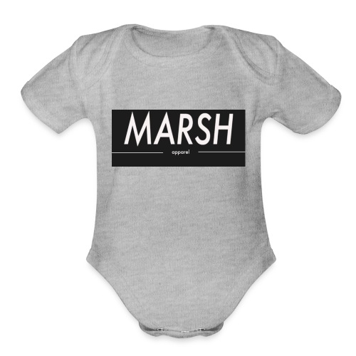 marsh apparel - Organic Short Sleeve Baby Bodysuit