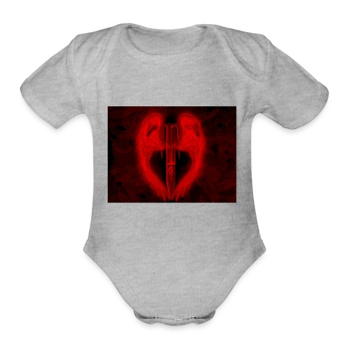 Angel Of Death - Organic Short Sleeve Baby Bodysuit