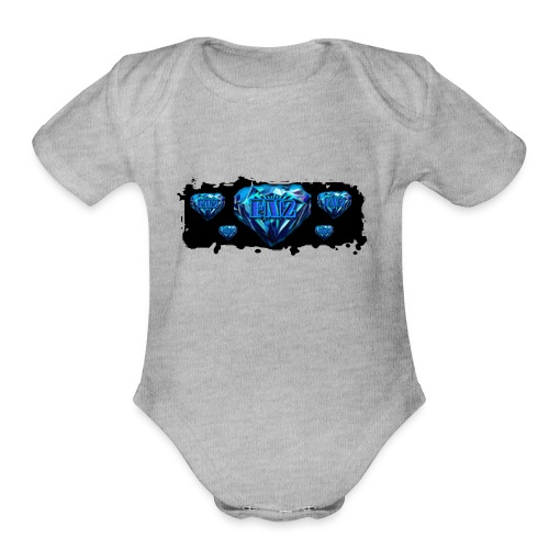 FaZeNaNoFTw Merchandise - Organic Short Sleeve Baby Bodysuit