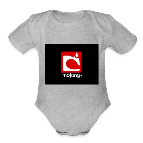 mojan. - Organic Short Sleeve Baby Bodysuit