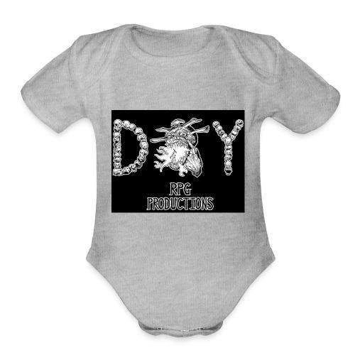 DIY RPG Productions Demon Metal - Organic Short Sleeve Baby Bodysuit