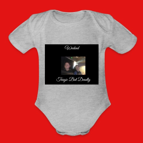 Tragic But Deadly album cover HOODIE EXCLUSIVE - Organic Short Sleeve Baby Bodysuit